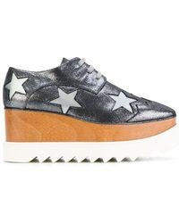 Stella McCartney - Glittered Elyse Shoes - Lyst