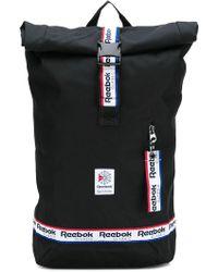 Reebok - Logo Trim Backpack - Lyst