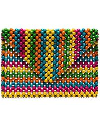 Rosantica - Multicoloured Danielle Beaded Clutch - Lyst