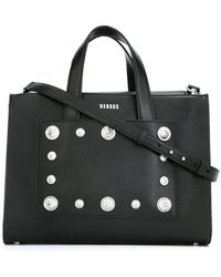 Versus    Studded Tote   Lyst