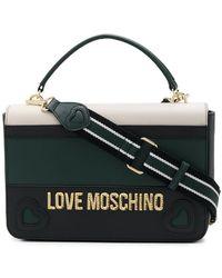 Love Moschino - Colour-block Tote Bag - Lyst