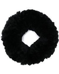Yves Salomon - Rabbit Fur Knitted Collar - Lyst