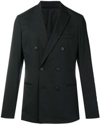 Theory - Double Breasted Blazer - Lyst