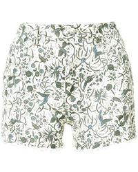 Étoile Isabel Marant - Printed Uruguay Shorts - Lyst