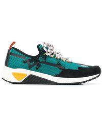 DIESEL - Colour Block Sneakers - Lyst