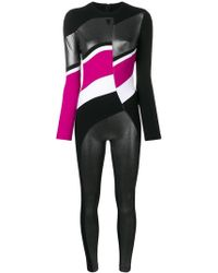 NO KA 'OI - Metallic One-piece Suit - Lyst