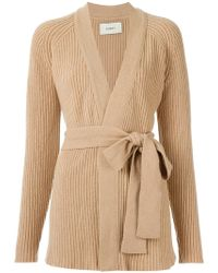 Egrey - Knitted Coat - Lyst
