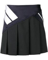 Neil Barrett - Contrast Stripe Skirt - Lyst