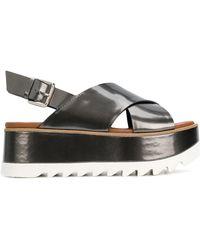 Premiata - Platform Open-toe Sandals - Lyst
