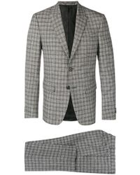 Givenchy - Checkered Suit - Lyst
