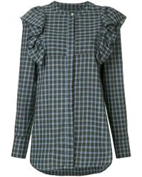 Macgraw - Signal Checked Shirt - Lyst