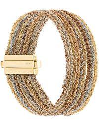 Carolina Bucci - 18kt Gold 9 Strand Lazy Lucky Bracelet - Lyst
