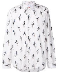 PS by Paul Smith - Flower Print Shirt - Lyst