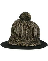 SuperDuper Hats - Wide Brim Beanie - Lyst