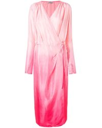 Attico | Ombre Dress Robe | Lyst
