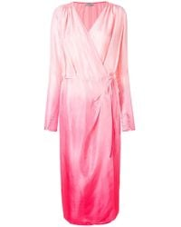 Attico - Ombre Dress Robe - Lyst