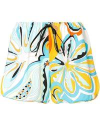 Emilio Pucci - Badea Print Drawstring Shorts - Lyst
