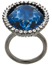 Stella McCartney - Cocktail Stone Ring - Lyst