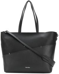 Calvin Klein Jeans - Panelled Logo Tote - Lyst