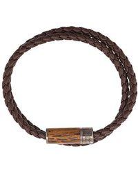 Tateossian - 'Montecarlo Wood' Armband - Lyst