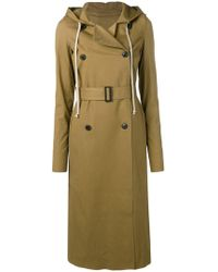 Rick Owens - Belted Mustard Trench - Lyst