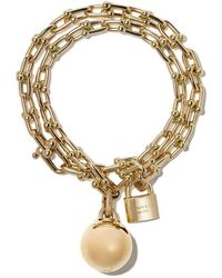 Tiffany & Co. - 18kt Yellow Gold Tiffany City Hardwear Wrap Bracelet - Lyst
