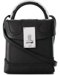 the VOLON - Cross Body Box Bag - Lyst