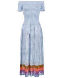 Cecilia Prado - Arlinda Midi Dress - Lyst