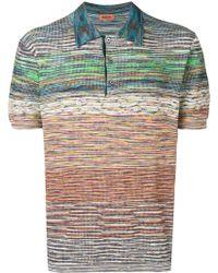 Missoni - Meliertes Poloshirt - Lyst