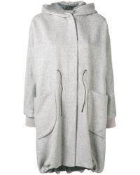 Fabiana Filippi - Fur Lined Hooded Parka - Lyst