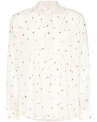 Saint Laurent - Star Print Shirt - Lyst