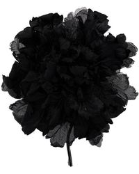 Ann Demeulemeester - Large Brooch Carnation - Lyst