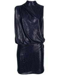 Love Moschino - Sleeveless Fitted Dress - Lyst
