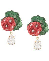 600a63896 Dolce & Gabbana Madonna Earrings in Metallic - Lyst