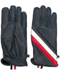 Thom Browne - Quilted Deerskin Leather Glove - Lyst