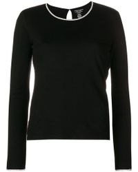 Majestic Filatures - Perfectly Fitted Sweater - Lyst