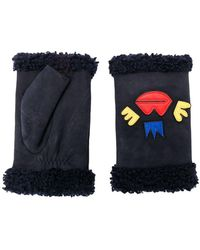 Agnelle - Patch Embroidered Gloves - Lyst