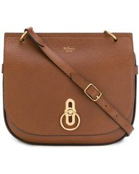 Mulberry - Pebbled Twist-lock Handbag - Lyst