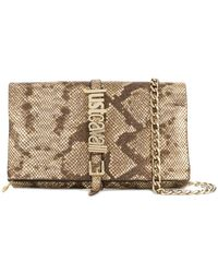 Just Cavalli - Snakeskin Effect Crossbody Bag - Lyst