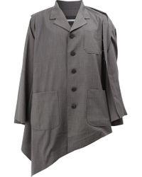 Moohong - Asymmetric Hem Jacket - Lyst