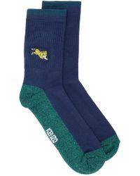 KENZO - Colour Block Socks - Lyst