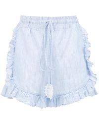 Martha Medeiros - Striped Shorts - Lyst