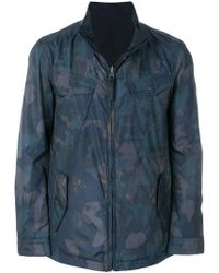 Woolrich - Camouflage Print Bomber Jacket - Lyst
