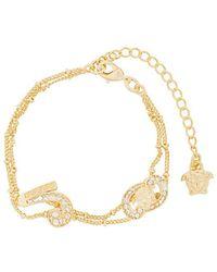 Versace | Double Stranded Bracelet | Lyst
