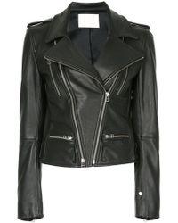 Dion Lee - Leather Biker Jacket - Lyst