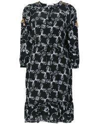 Dorothee Schumacher - Printed Ruffle Hem Dress - Lyst