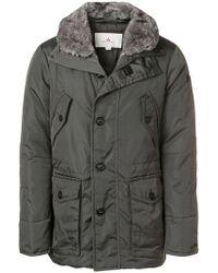 Peuterey - Rabbit Fur Trimmed Jacket - Lyst