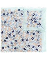 Hemisphere - Floral Print Scarf - Lyst
