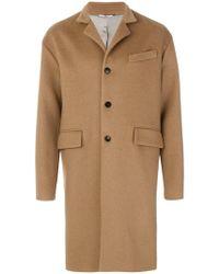 Valentino - Single Breasted Coat - Lyst