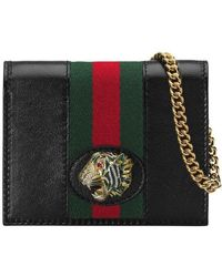 Gucci - Rajah Chain Card Case - Lyst